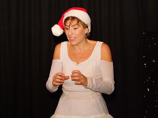 Gracia Iglesias, Cuentos de Navidad, Berlin Teatro, Serafina, Rastro de Dios, cuentacuentos, Navidad, angel
