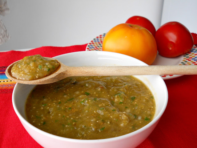 Simple Roasted Salsa Verde