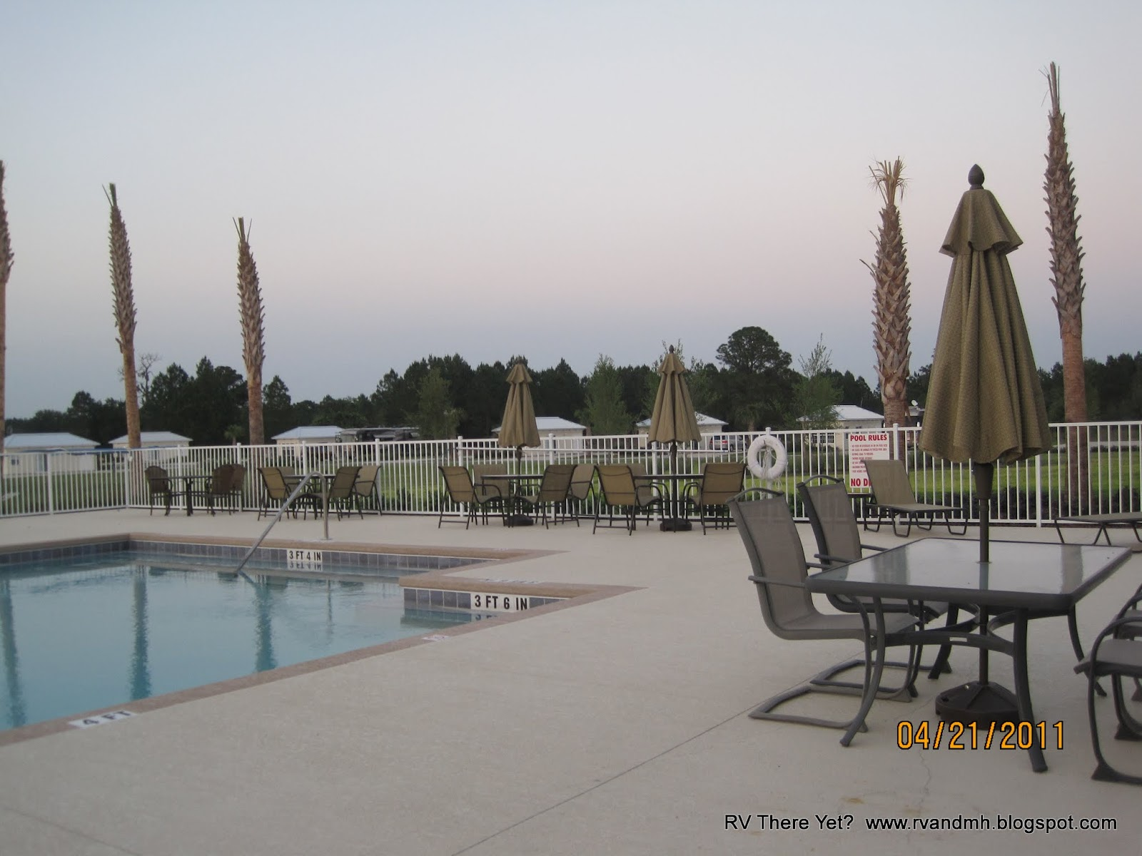 Rv there yet the orange blossom special for Florida grande motor coach resort