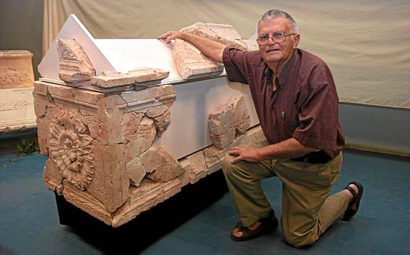 Ehud Netzer e o sacófago de Herodes