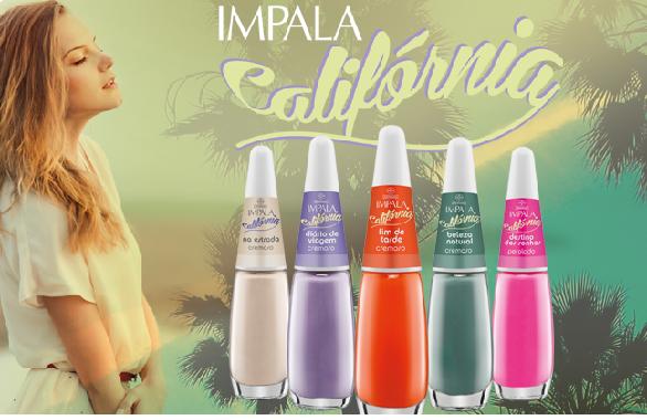 Coleção Califórnia Impala: linha de esmaltes Alto Verão 2014