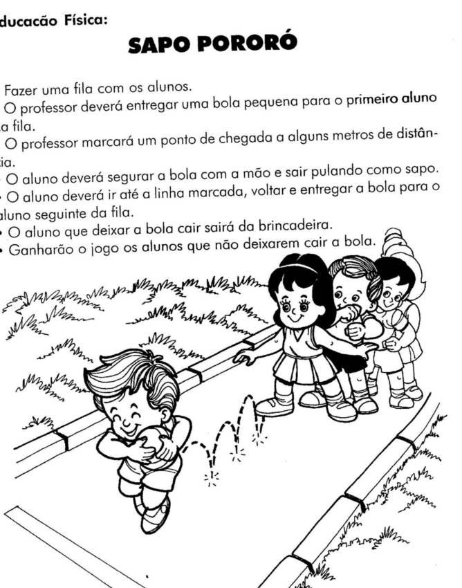 Well-known EDUCAÇÃO FÍSICA - 45 ATIVIDADES EXERCÍCIOS DESENHOS COLORIR  CW02