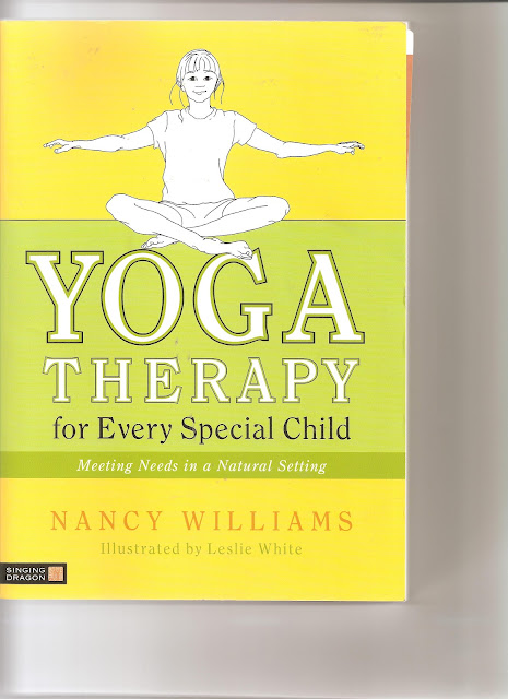 Our pediatric yoga therapist