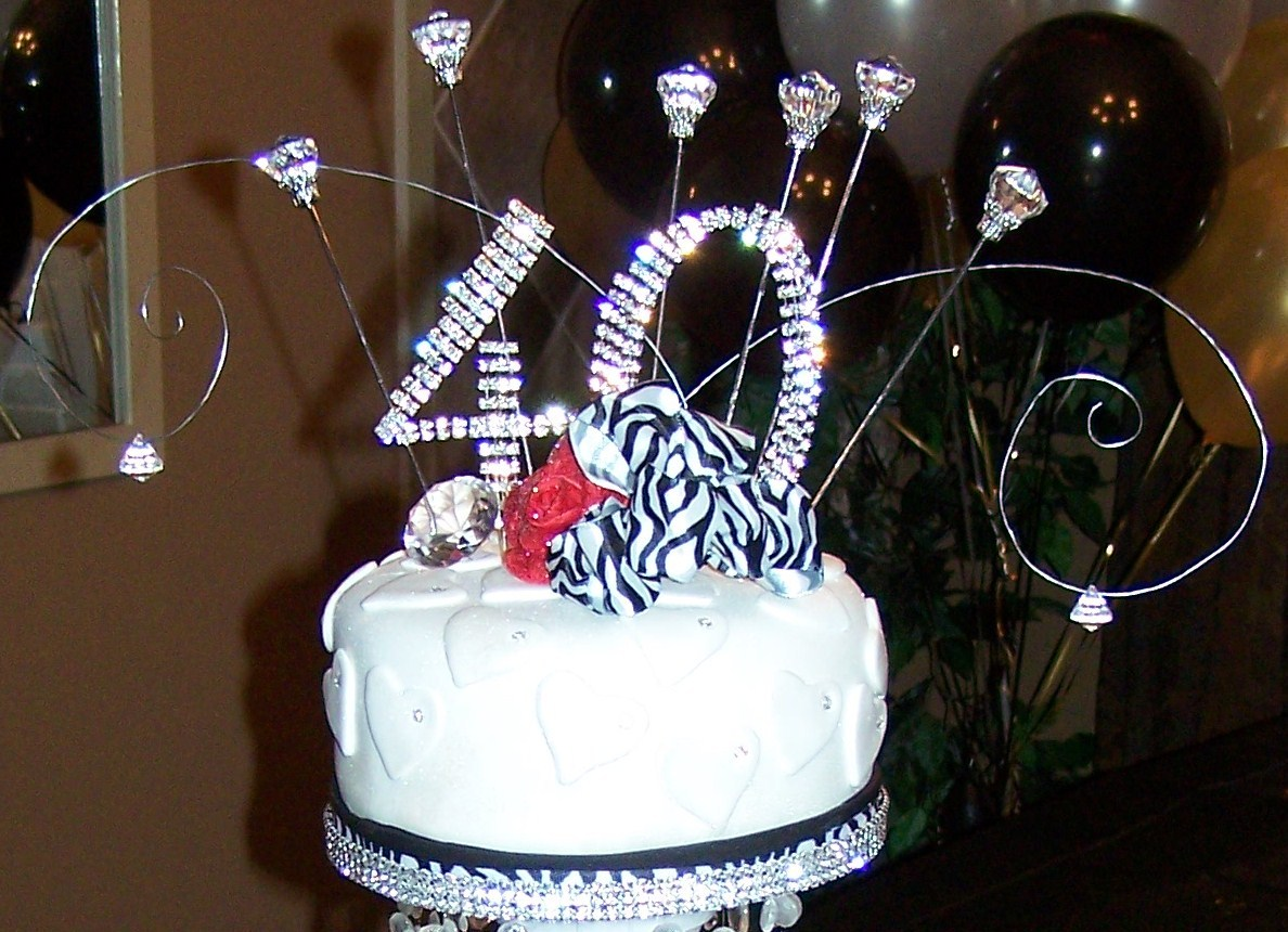 Wendy Woo Cakes Celebrating 40 With Style Bling