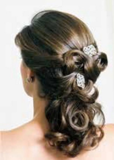 bridal hairstyles for long hair half up have your dream wedding. Black Bedroom Furniture Sets. Home Design Ideas
