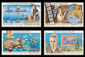 The Bahamas 75th Anniversary of the World's 1st Undersea Post Office & the Centenary of the 1st Underwater Motion Pictures