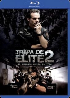 Carátula Tropa de Elite 2 película brrip latino