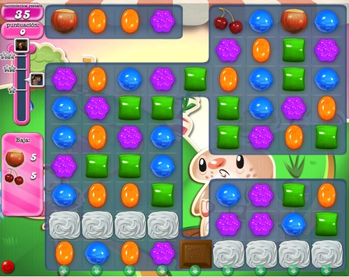 Nivel 74 de Candy Crush Saga