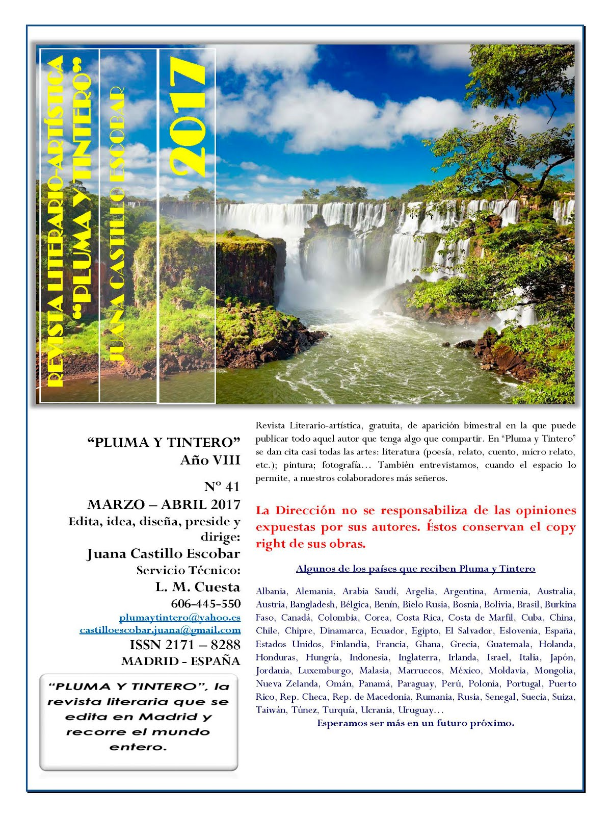Revista Nº 41 - Año VIII - MARZO-ABRIL 2017