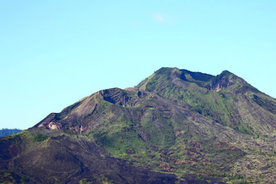 Crater of Mount Batur at Kintamani Bali Island