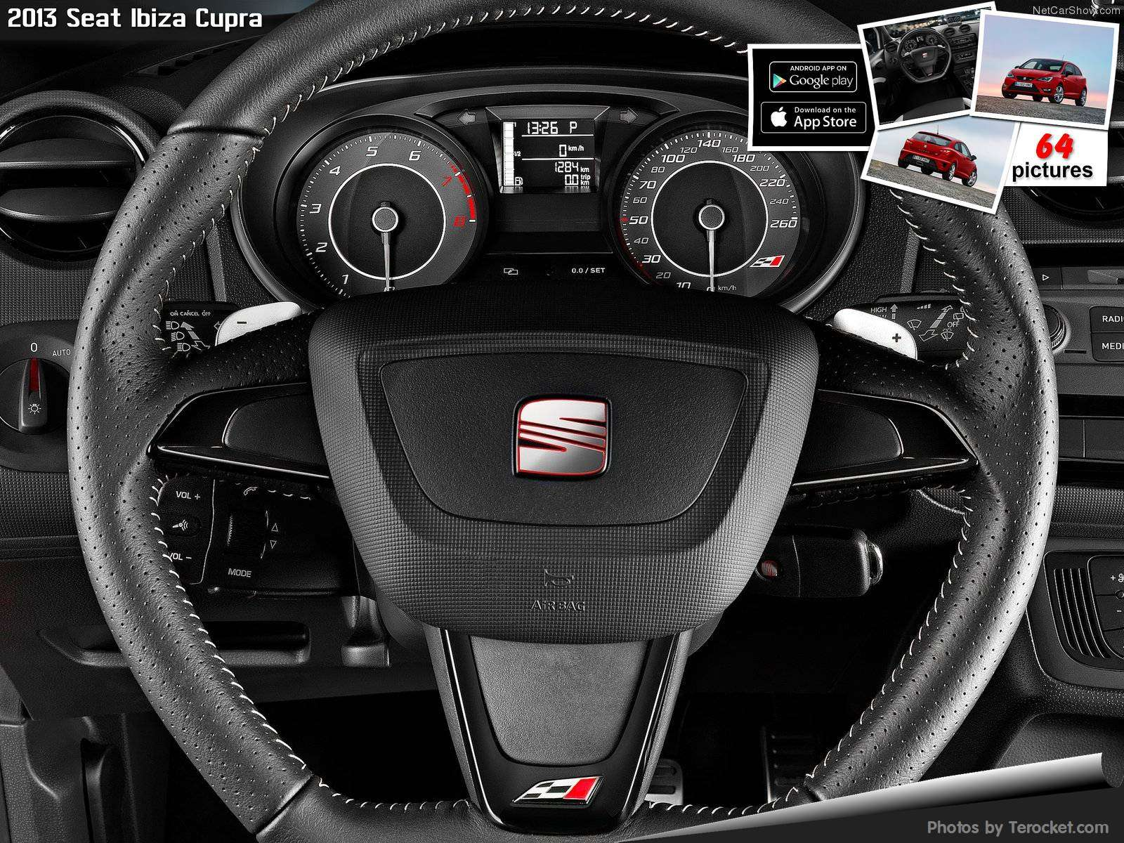 Hình ảnh xe ô tô Seat Ibiza Cupra 2013 & nội ngoại thất