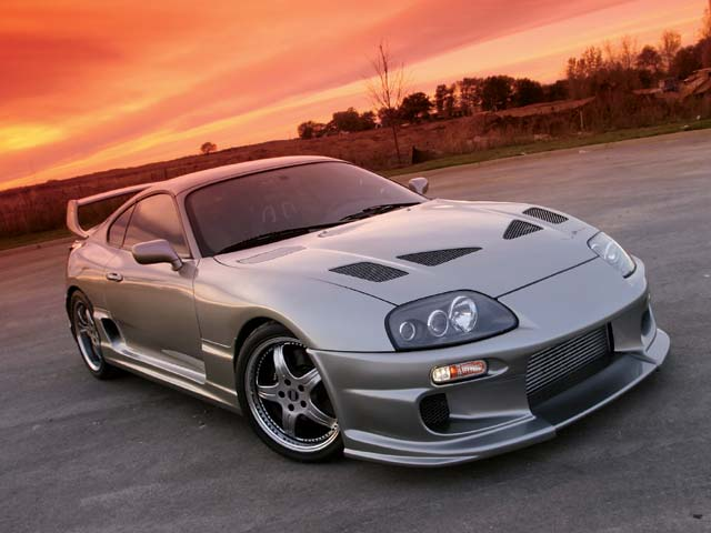 modified car wallpaper. modified toyota supra