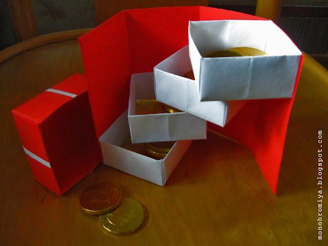 монетница, открытка, необычная открытка, открытка своими руками, подарок из бумаги