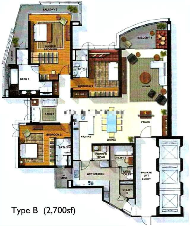 Kuala Lumpur Property Listing 28 Mont Kiara For Sale
