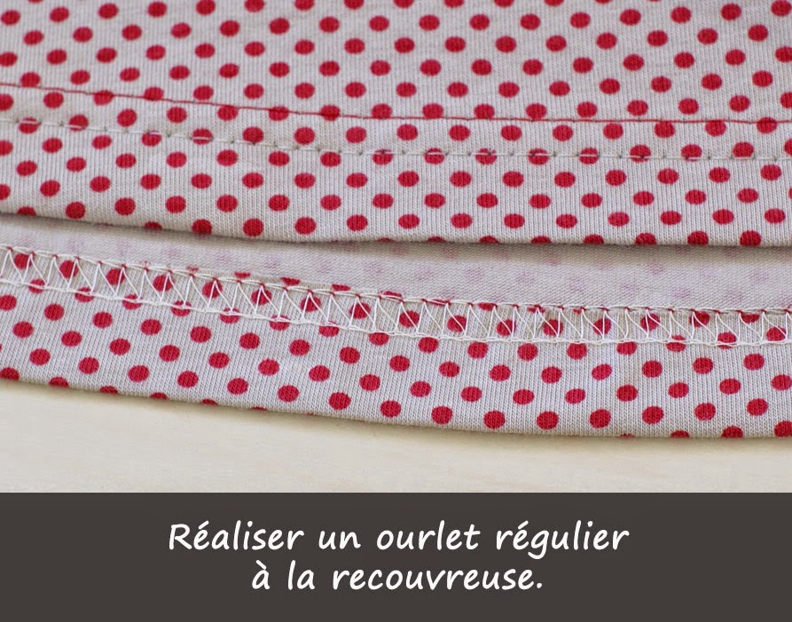 ourlet recouvreuse christelle beneytout