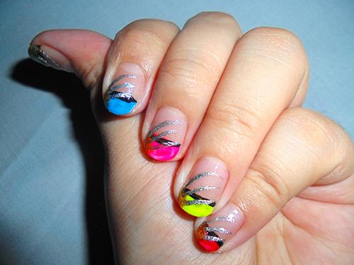 's nail arts neon