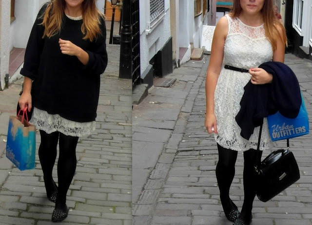 Stuck in a 'Oversized and Lace' rut