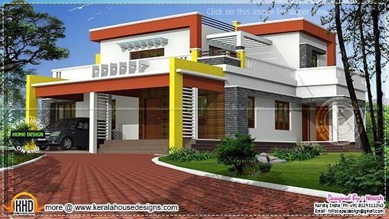 2441 square feet contemporary home