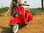VESPA SUPER 66 RED