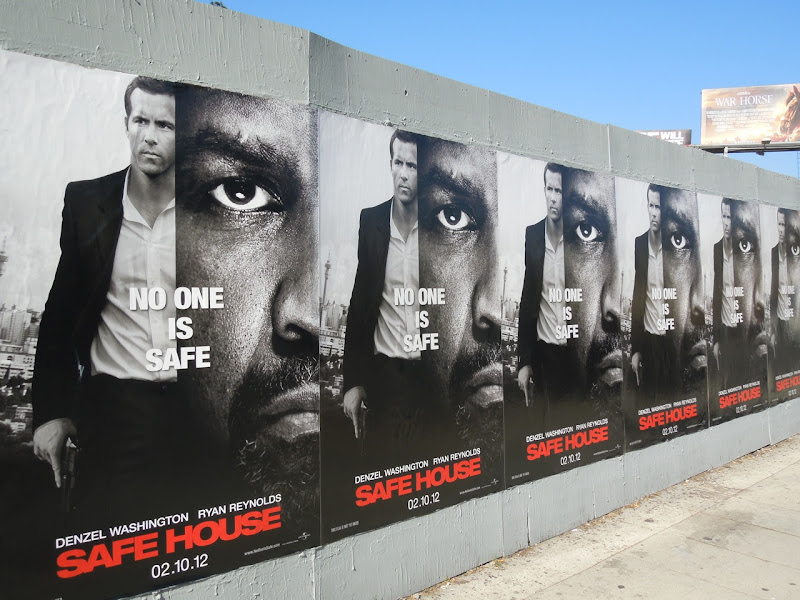 Safe House movie posters