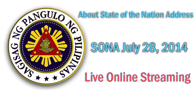Watch 2014 Pres. Benigno Aquino III State of the Nation Address Live Online Streaming