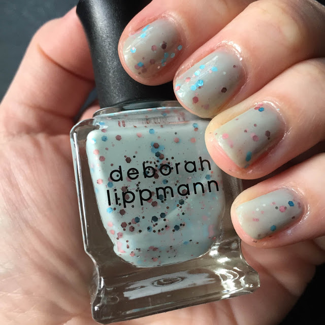 My 2015 in Nails, nail polish roundup, nail polish, nail lacquer, nail varnish, manicure, #ManiMonday, Deborah Lippmann Glitter in the Air