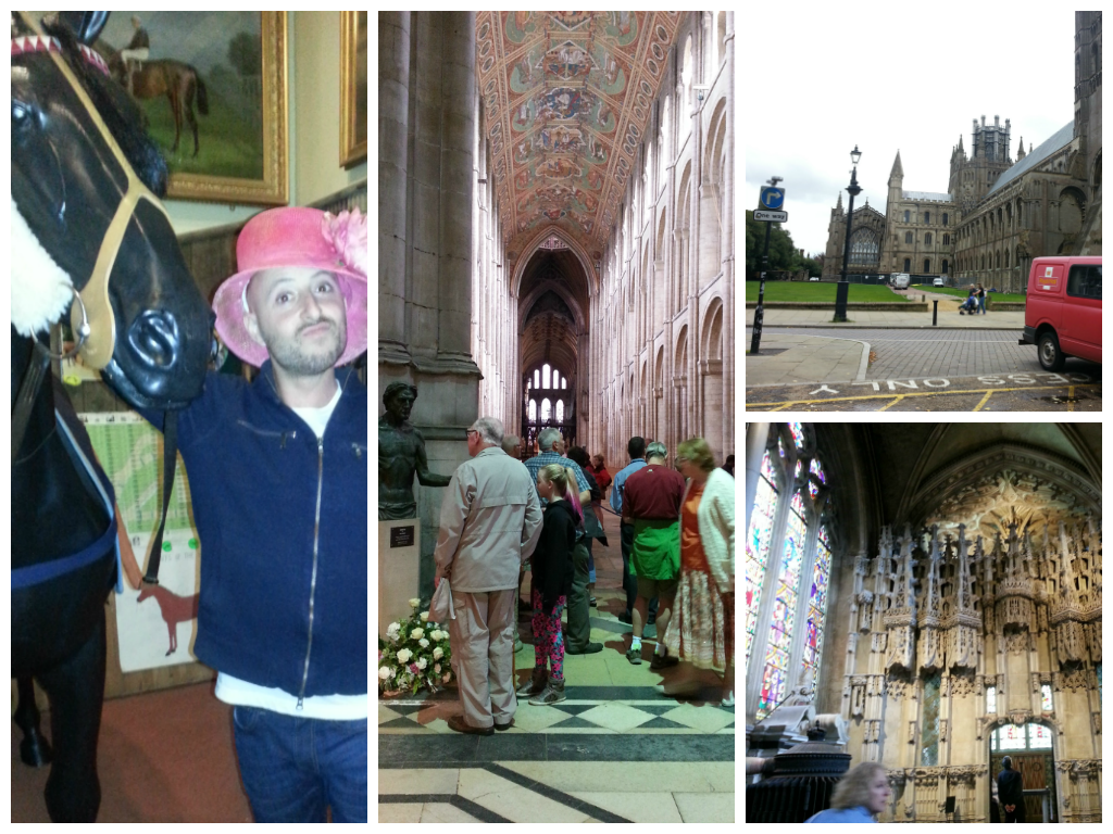 Visiting Ely and Newmarket in England