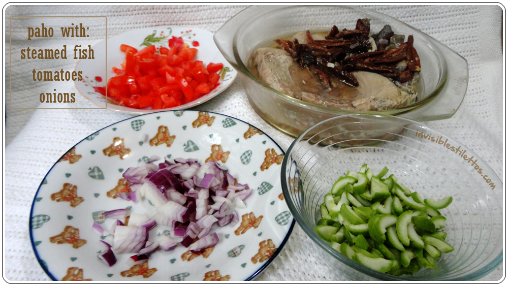 Paho - A Summer Side Dish