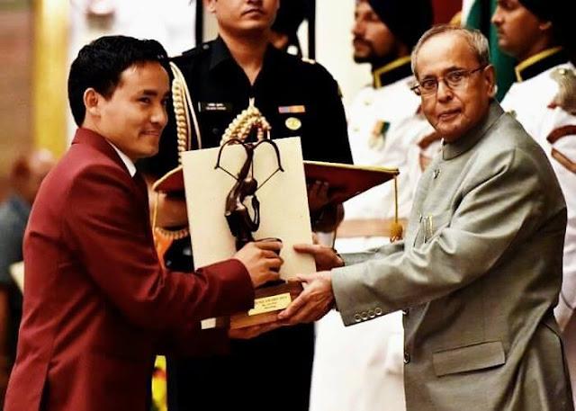 Gorkha shooter Jitu Rai conferred Arjuna award 2015
