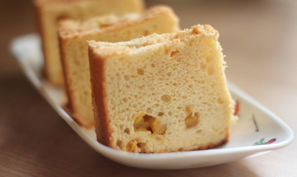 Mango Yogurt Chiffon Cake Recipe
