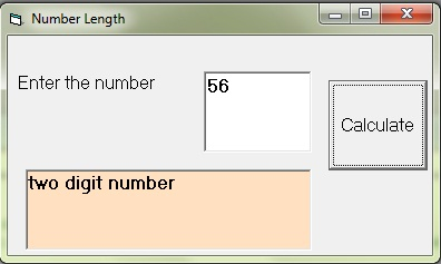Determines numeric length