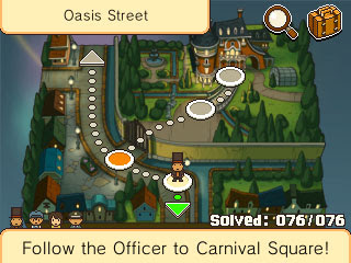 Professor Layton and the Miracle Mask Walkthrough 077 Mishmash Map