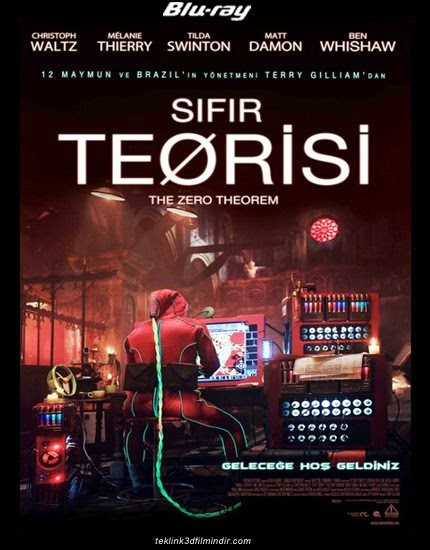 Sıfır Teorisi - The Zero Theorem (2013) afis