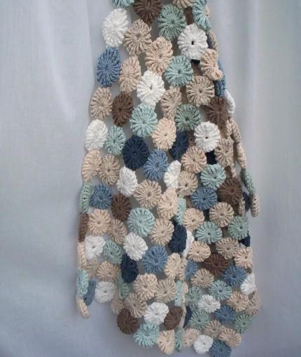 YOYO  Blanket - Free Pattern