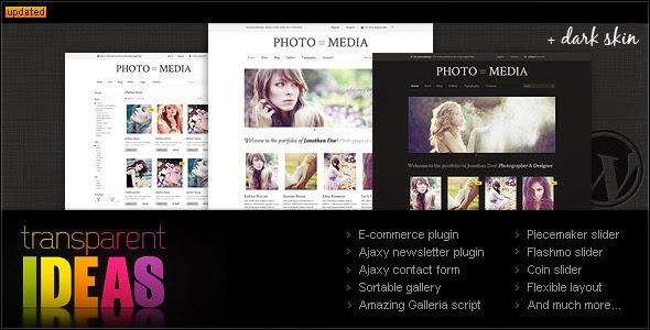 Phomedia WordPress Theme – A WP E-Commerce theme