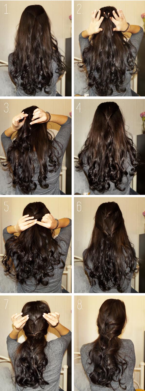 fryzura na ślub, fryzura na wesele, fryzura na święta, fryzura na randkę