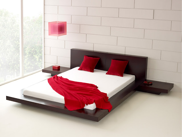 simple bed room design decoration and bed sheets 2013