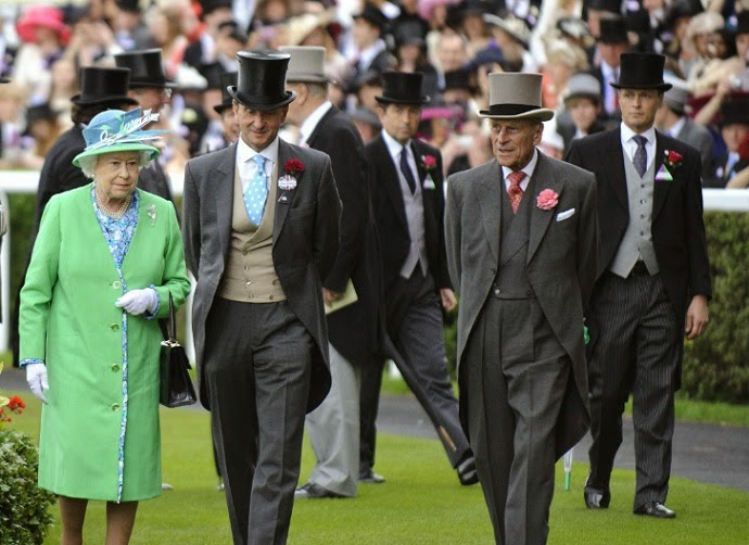 Gentlemen's dress code at royal ascot