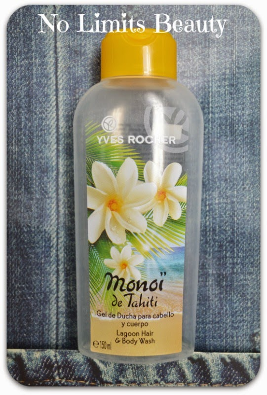 Gel de ducha para cabello y cuerpo de Monoï de Tahití de Yves Rocher