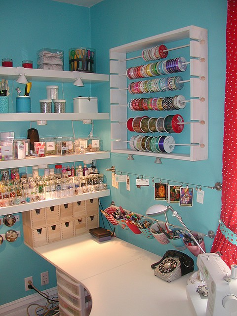 Style a kid best craft rooms ever inspiration to - Hacer bricolaje en casa ...