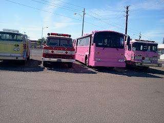 Pink Heals Fire Trucks