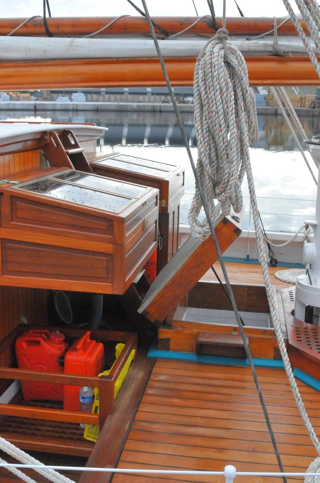 la marcophilie navale : goélette etoile en baltique 2014
