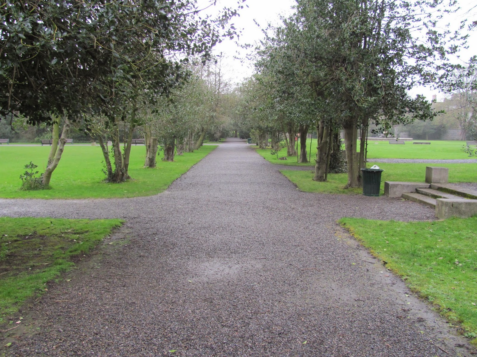 Gravel Paths at Iveagh Gardens Dublin, Ireland