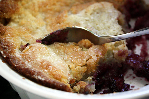 Blackberry Cobbler Recipe ~ Easy Dessert Recipes
