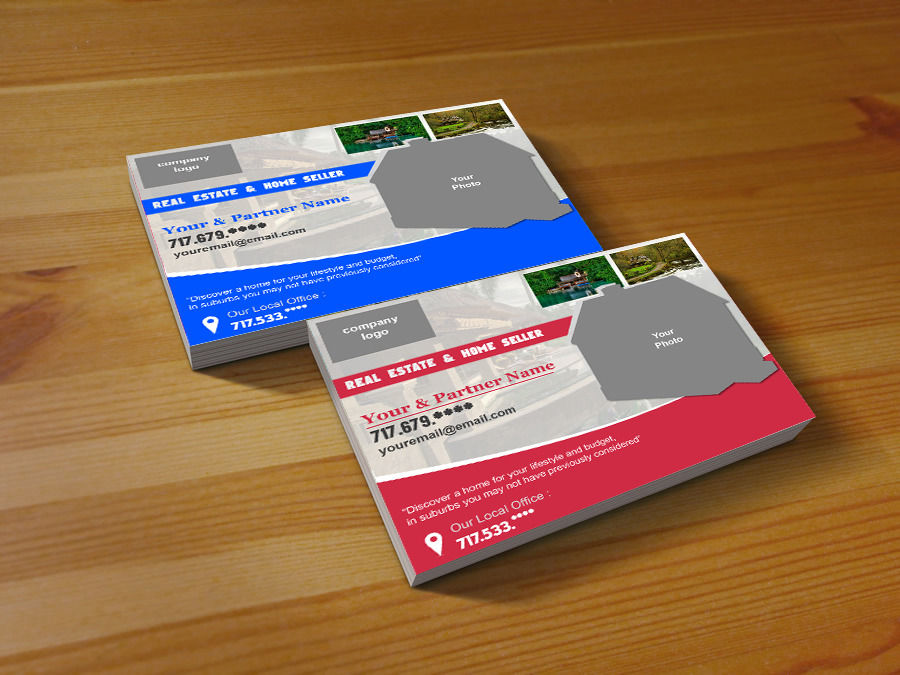 Alversia design graphic android development freelance free real estate post card which introduced yourself as a real estate agent i introduce my second post card design and i hope you are interested reheart Images