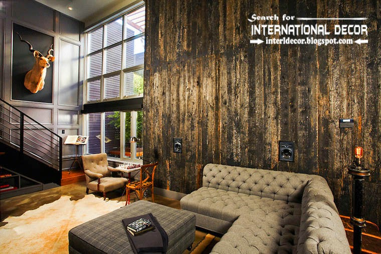 tips to creating retro interior design style, stylish wall coverings