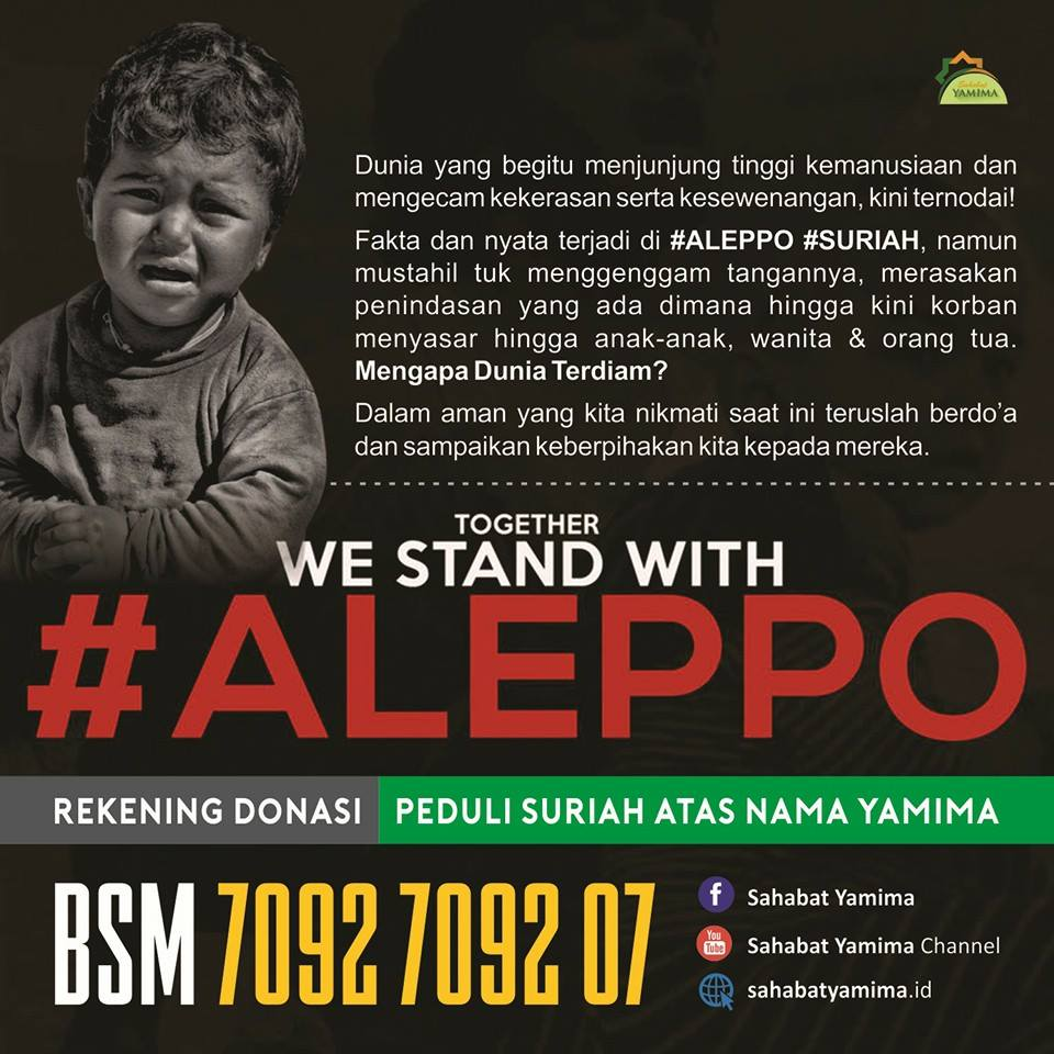 SAVE ALEPPO