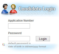 Kerala University Candidate login page