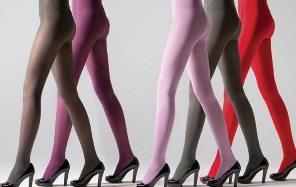 dicas de moda meias calcas 01 Meias coloridas femininas: modelos