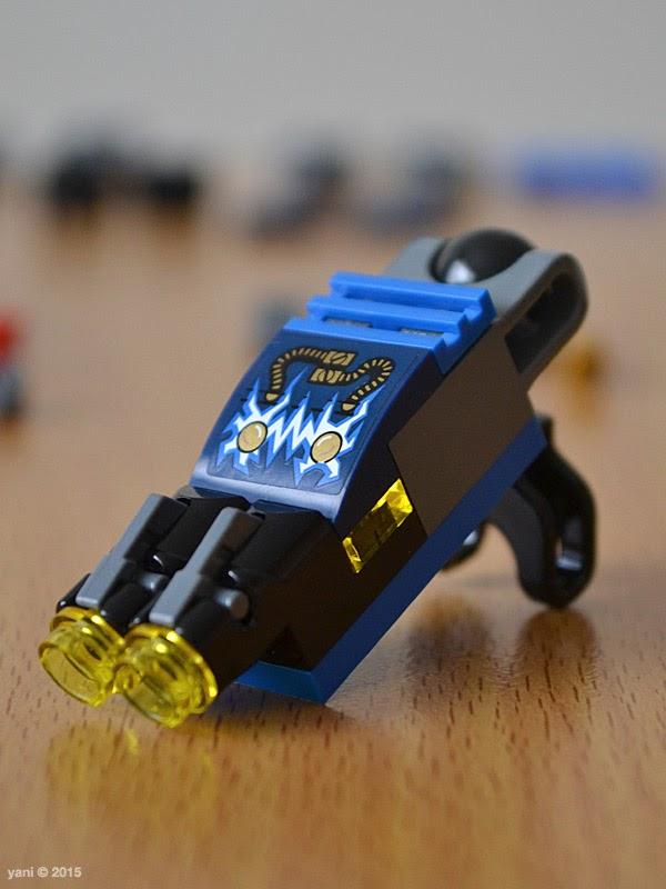 lego ninjago electromech - electro blaster hand
